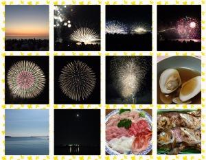 花火大会・福井の海の幸・海