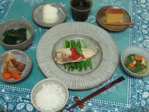 アクアパッツァ・煮物・お味噌汁・浅漬け