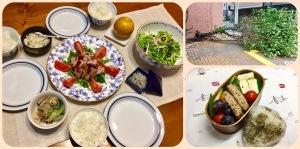 お弁当・よくできた夕飯
