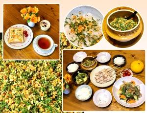 ブランチ・お野菜いっぱい夕飯