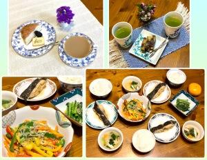 ティータイムと夕飯