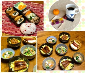 お弁当と夕飯